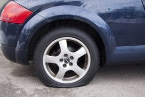 A GM warranty plan helps you with flat tires