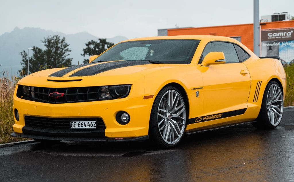 yellow camaro smith chevy warranty